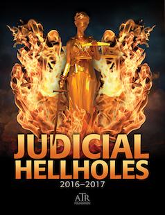 Judicial Hellholes 2016 report cover