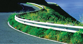Highway guardrail picture